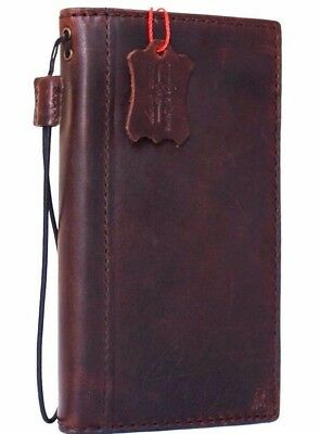 genuine natural leather Case for apple iphone 6s 6 wallet handmade cover id
