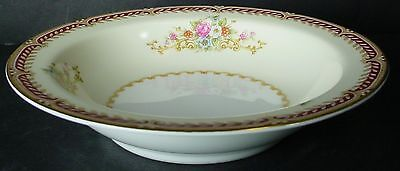 NORITAKE china MYSTERY 179 pattern FRUIT dessert sauce BERRY BOWL 5-3/4""