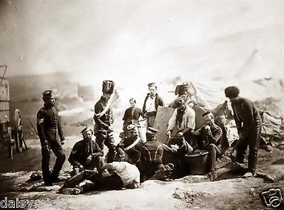 Charge of the Light Brigade 8th Hussars British Army Crimea 1854 6x4 Repro Photo