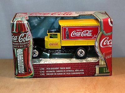Coca Cola Bottling Co. - 1930 Delivery Truck Bank - 1/43 Scale - Mint