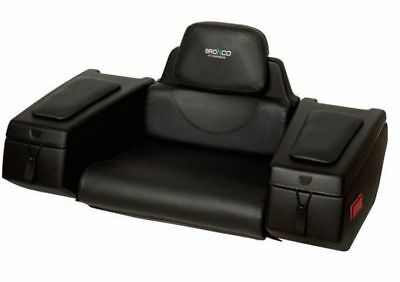 Atv Passenger Seat Box With Storage 2 Up Double Ride Trunk Ar 36 Made In Canada