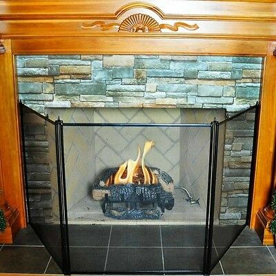 Uniflame 3 FOLD OVERSIZED STOVE SCREEN S-1519 Stove Screen NEW