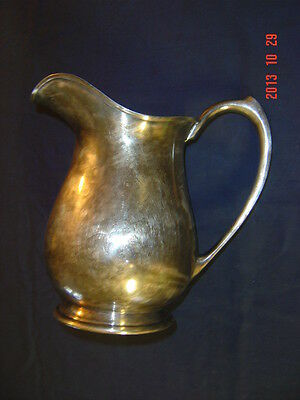 VINTAGE BARBOUR S.P. CO. SILVER PITCHER INTERNATIONAL S. CO. 5185 SILVER PLATE