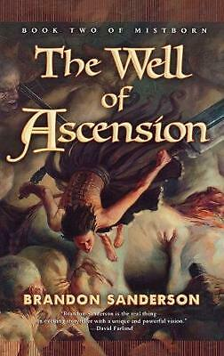 The Well of Ascension by Brandon Sanderson Hardcover Book (English)