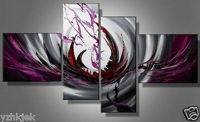 New Modern Hand abstract Huge Art Decor wall Canvas Oil Painting (No Frame)