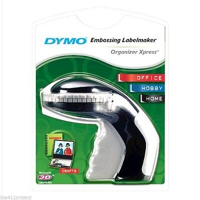 Dymo Organizer Xpress Pro Personal Embossing Label Maker Labeler +Tape 12966 NEW