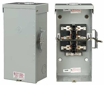 GE TC10324R Non-Fused Emergency Power Transfer Switch 200A, 240V