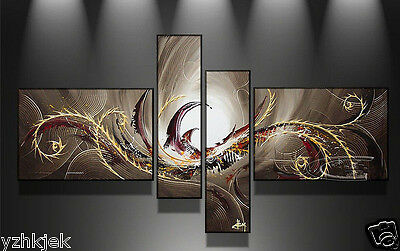 NO Framed!!! Handmade Modern Wall Art Set Abstract Huge Oil Painting On Canvas