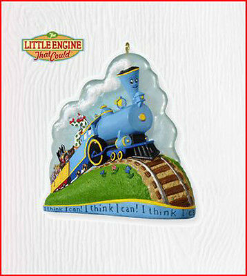 2010 Hallmark I THINK I CAN! Ornament THE LITTLE ENGINE THAT COULD Train