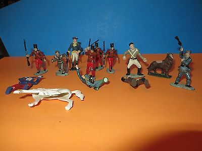1960's COWBOY AND INDIANS SOLDIERS HORSES  LOT #3