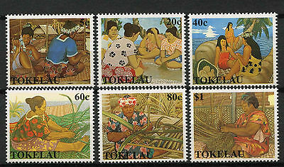 Tokelau 1990 SG#177-182 Womens Handicrafts MNH Set #A78727