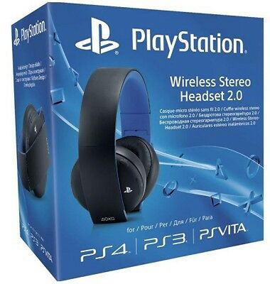 Playstation Wireless Headset 2.0 Brand New Sealed Official