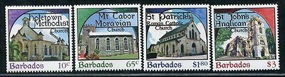 BARBADOS STAMP 2013 PLACES OF WORSHIP 4v. MNH