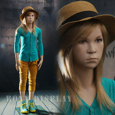 Kids Children Realistic Mannequin Manequin Manikin Dress Form Display #MZ-SK02