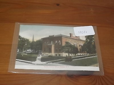 Old  postcard our ref#19582 COUNTY CLERK'S OFFICE OSWEGO NY