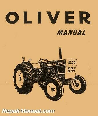 Oliver White 1250A 1255 1265 MM-G350 Tractor Service Manual