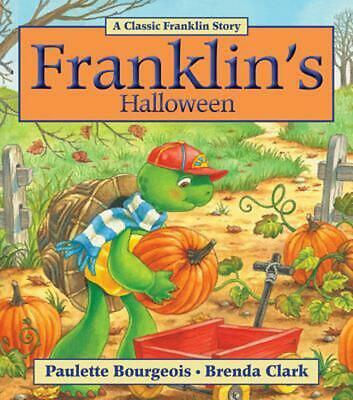 Franklin's Halloween by Paulette Bourgeois (English) Paperback Book Free Shippin