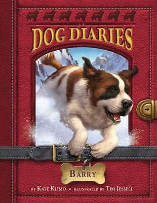 Dog Diaries #3: Barry by Kate Klimo (English) Paperback Book Free Shipping!