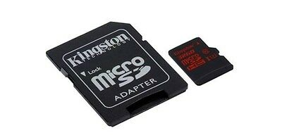 Kingston (32GB) MicroSDHC US-1 Speed Class 3