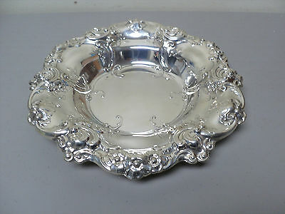 """Rare Gorham 'Melrose"""" Sterling Silver Chased Decorated Centerpiece Bowl #818"""