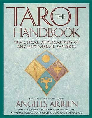 The Tarot Handbook by Angeles Arrien (English) Paperback Book Free Shipping!