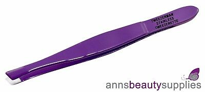 Tweezerman slant Tweezerette Stainless Steel  Tweezer Plucker Tweezers Beauty