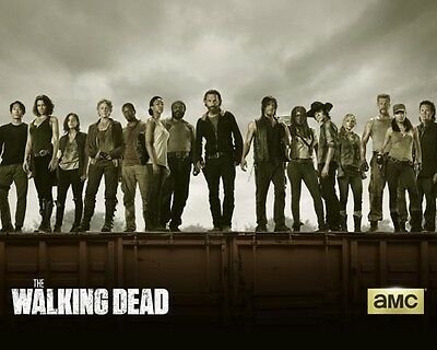 Walking Dead, The [Cast] (54950) 10x8 Photo