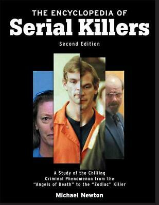 The Encyclopedia of Serial Killers by Michael Newton Paperback Book (English)