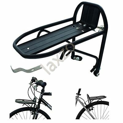 Front/Rear Mini Alloy Pannier Rack Carrier Brake Fit, Bike Luggage Bicycle Bike