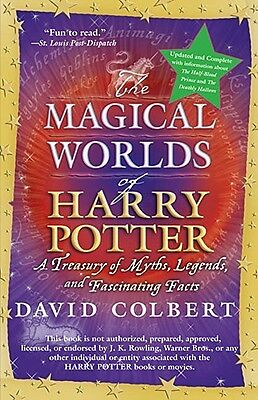 The Magical Words of Harry Potter By Colbert, David