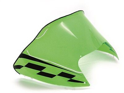 Arctic Cat ZR 900, 2003 2004 2005, Low Green and Black Windshield - ZR900