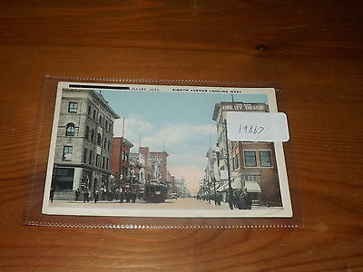 Old  postcard our ref#19867 EIGHTH AVENUE CALGARY