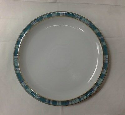 """Denby """"Azure Coast"""" Dinner Plate 10 1/2"""" Stoneware New Made In England"""
