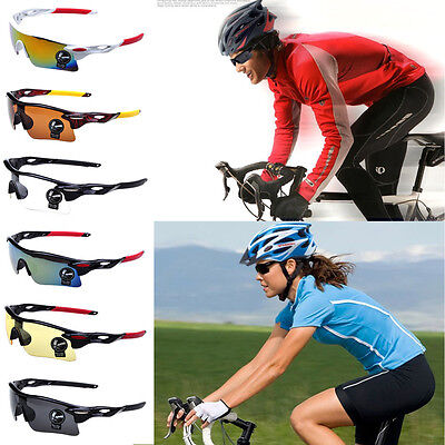 Cycling Bike Sunglasses Polarized Outdoor Hiking Colorful Sports Golf Glasses
