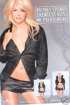 """Britney Spears """"greatest Hits"""" Hong Kong Promo Poster"""