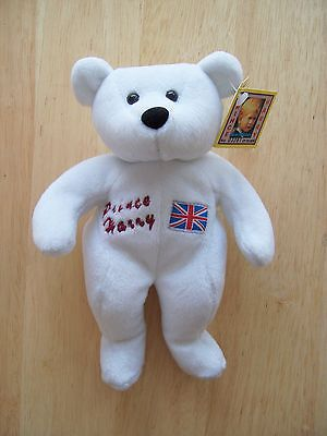 Prince Harry Royalty Limited Edition Beverly Hills Plush Bears With Tag