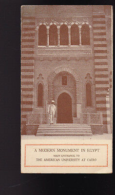 American University at Cairo 1922 Modern Monument in Egypt