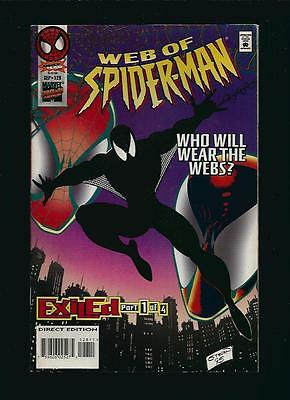 Web Of Spider-Man <Who Will Wear The Webs?> Marvel Us Comic Vol.1 # 128/'95