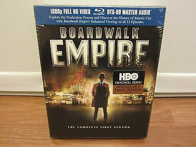Boardwalk Empire The Complete First Season 1 One Blu-ray Disc, 2012, 5-Disc Set)