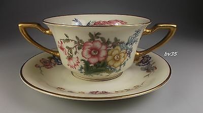 Rosenthal Phoenix Bouillon Cup & Saucer Sets - Bowl - Set Of 2 - Perfect!