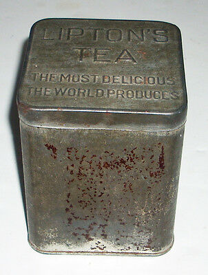 Vintage Liptons Tea Tin