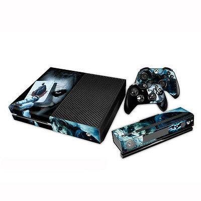 Skin Sticker Full Body Vinyl Decal For Xbox ONE Console + free Controllers #82