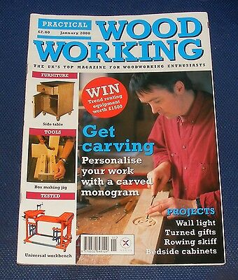 Practical Wood Working January 2000 - Get Carving