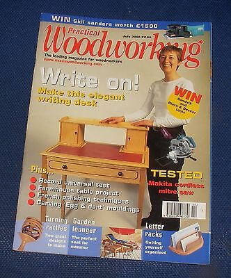 Practical Wood Working July 2000 - Write On!
