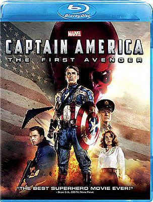 CAPTAIN AMERICA: THE FIRST AVENGER (786936845068) - NEW BLU-RAY