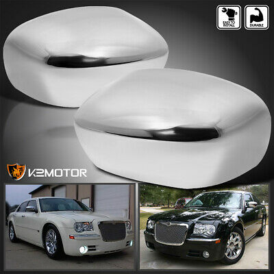 Fit 2011-2018 Chrysler 300//300C Chrome Mirror Covers