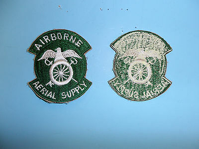 b1881 US Army 1950's-60's Airborne Aerial Supply patch