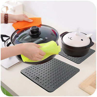 Non-Stick Silicone Dots Pan Hot Pads Baking Pastry Cooking Dish Mat Liner Tray