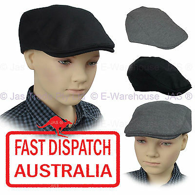 Kid Child Page Boy Baseball Wedding Ivy Golf Flat Newsboy Pageboy Cotton Cap Hat
