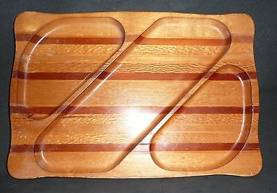 NZ Timbers  SOVEREIGN WOODWORKERS, SERVING DISH, RECTANGULAR,30 cm X 20.5cm